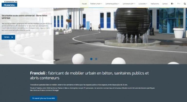Le nouveau site de Francioli est en ligne