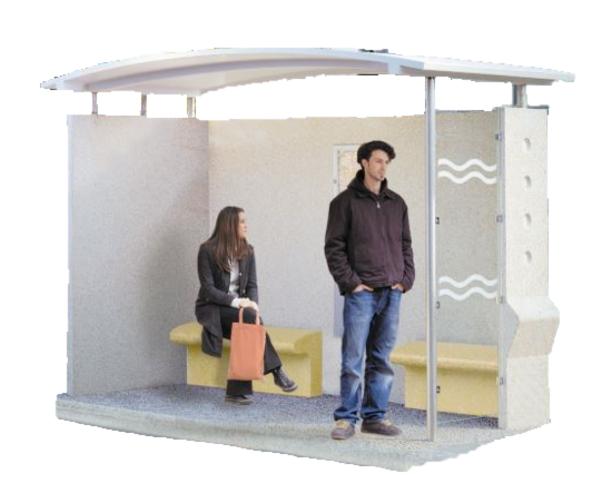 Glazed Traveller shelter