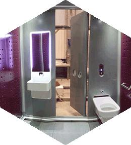 BOX in BOX : Les toilettes publiques sur mesure