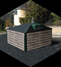 Bihr semi-underground containers