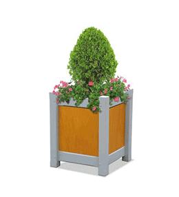 Jardinière béton carrée