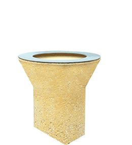 Concrete ashtray (AP81CEN)