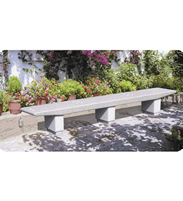 Urban Furniture: Concrete bench