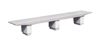 Urban Furniture: Concrete bench