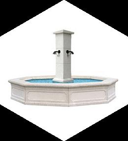Fontaines, Postes eau